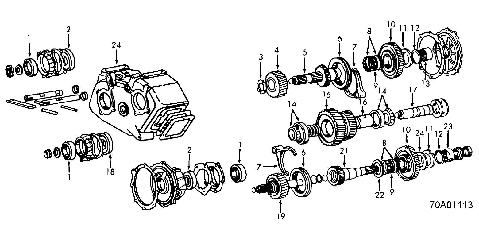 91 chev differential diagram